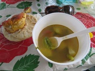 YUM! Delicious soup