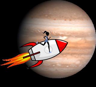 runner rocket jupiter